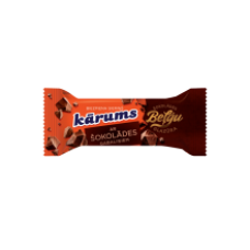 Karums - Curd Snack with Chocolate Chips in Belgian Chocolate coating 38g