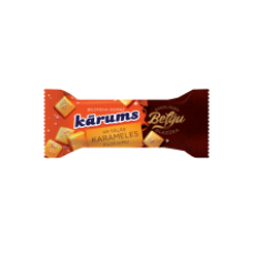 Karums - Curd Snack with salted Caramel filling in Belgian Chocolate coating 38g