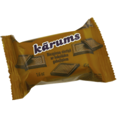 Karums - Glazed Curd Cheese Bar with Chocolate 45g