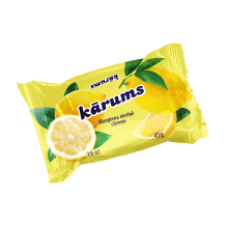 Karums - Glazed Curd Cheese Bar with Lemon 45g
