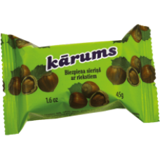 Karums - Glazed Curd Cheese Bar with Nuts 45g