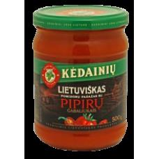 Kedainiu Konservai - Lietuviskas Tomato Sauce with Pepper Bits 500g