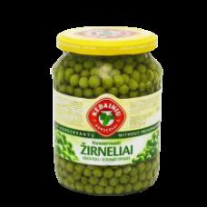 Kedainiu Konservai - Pickled Green Peas 720ml