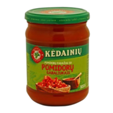 Kedainiu Konservai - Tomato Sauce with Tomato Bits 500g