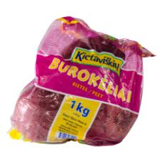 Kietaviskiu - Fresh Beetroots PE in Bag 1kg