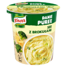 Knorr - Mash Potato with Cheese and Broccoli in Mug 50g
