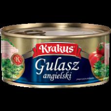 Krakus - Gulasz Angielski Canned Chopped Meat 300g
