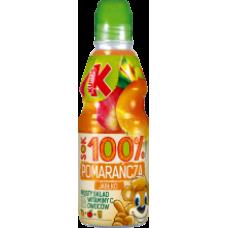 Kubus - Orange-Apple 100% Juice 300ml PET