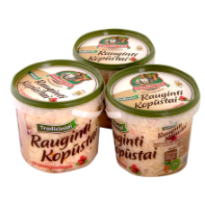 Kvedaru Ukis - Sauerkraut with Cranberries  800g