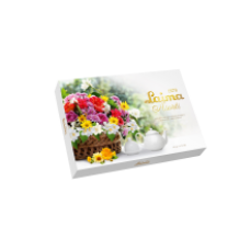 Laima - Basket of Flowers Assorted Chocolate Sweets 190g