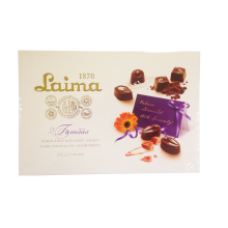 Laima - Assorted Dark Chocolate Sweets 215g