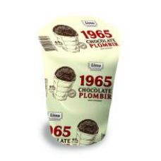 Limo - Chocolate Premium Plombir Ice Cream 140ml