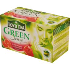 Loyd - Green Sense Grapefruit and Pommegranate Tea 20x1.7g