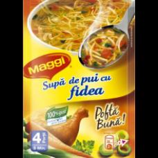 Maggi - Fidelicios Chicken Soup with Noodles / Supa Pui Cu Fidea 50g