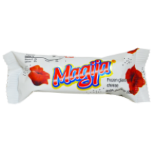 Magija - Glazed Curd Cheese Bar with Poppy Seeds 45g