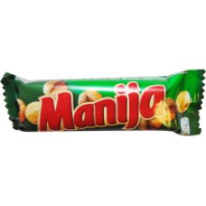 Manija - Chocolate Bar with Hazelnuts 49g
