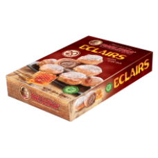 Marlenka - Eclairs with Cocoa Filling 250g