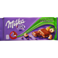 Milka - Milk Chocolate with Hazelnuts 100g