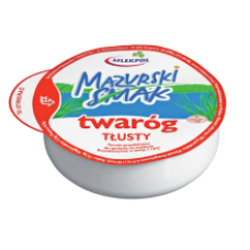 Mlekpol - Mazurski Smak Curd Cheese Full Fat 275g