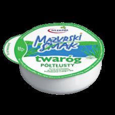 Mlekpol - Mazurski Smak Curd Cheese Semi Fat 275g