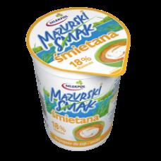 Mlekpol - Mazurski Smak Sour Cream 18% Fat 400g