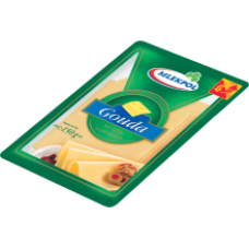 Mlekpol - Gouda Sliced Cheese 150g