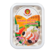 Negro - Roe Salad with Olives / Salata Icre cu Masline 140g