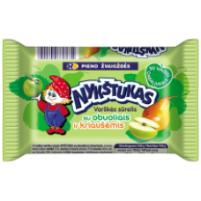 Nykstukas - Curd Cheese Bar with Apple and Pear 100g