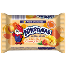 Nykstukas - Curd Cheese Bar with Peach and Mango 100g