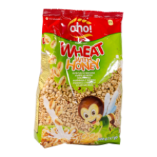 OHO - Breakfast Cereals Wheat with Honey 500g