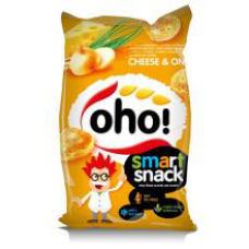 OHO - Cheese and Onion Flavour Snacks 60g