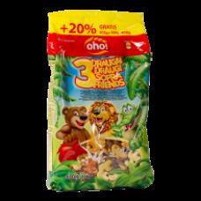 OHO - Three Friends Breakfast Cereals 500g