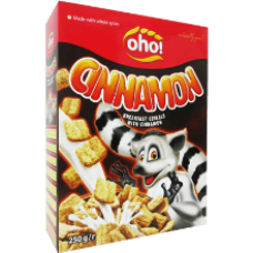 OHO - Breakfast Cereals with Cinnamon 250g