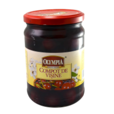 Olympia - Sour Cherry Compote / Compot Visine 580ml