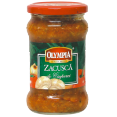 Olympia - Vegetable Stew with Mushrooms / Zacusca cu Ciuperci 314ml