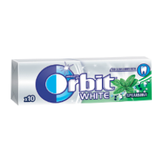 Orbit - White Spearmint Chewing Gum 14g
