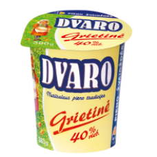 Dvaro - Sour Cream 40% Fat 380g