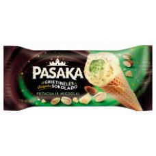 Pasaka - Pistachio Ice Cream with Almonds&Pistachios in Belgian White Chocolate 150ml