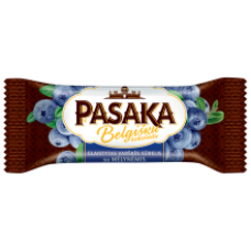 Pasaka - Glazed Curd Cheese Bar with Blueberry and Belgian Chocolate 40g