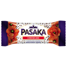 Pasaka - Glazed Curd Cheese Bar with Poppy Seeds 40g