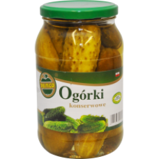 Frutico - Pickled Cucumbers 900ml