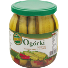 Frutico - Pickled Cucumbers with Chilli 560ml