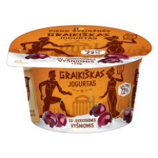 Pieno Zvaigzdes - Greek Yogurt with Black Cherry 150g