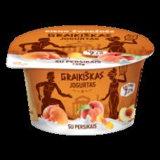 Pieno Zvaigzdes - Greek Yogurt with Peach 150g