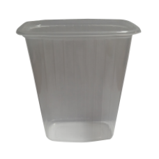 Plastic Food Container without Lid 500ml
