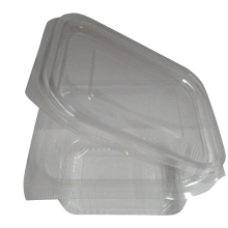 Plastic Food Container with Lid 375ml