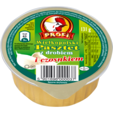 Profi - Poultry Pate with Garlic 131g