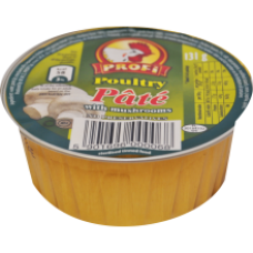 Profi - Poultry Pate with Mushrooms 131g