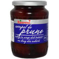 Raureni - Plums Compote / Compot Prune 720g