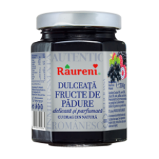 Raureni - Wild Berries Jam / Dulceata de Fructe de Padure 250g